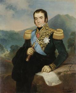 Posthuum portret van Herman Willem Daendels (1762-1818) als Gouverneur-generaal van Nederlands Indië (1808-10).