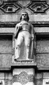 Standbeeld van Daendels