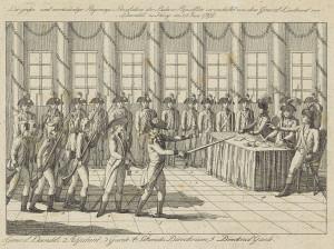 Staatsgreep door generaal Daendels, 1798, anoniem, 1798